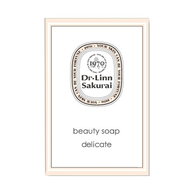 修正拍車数学的なドクターリンサクライ 洗顔石鹸 ビューティソープ デリケート (90g)