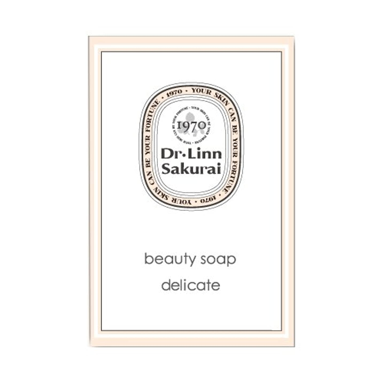 シェルターモールモンスタードクターリンサクライ 洗顔石鹸 ビューティソープ デリケート (90g)