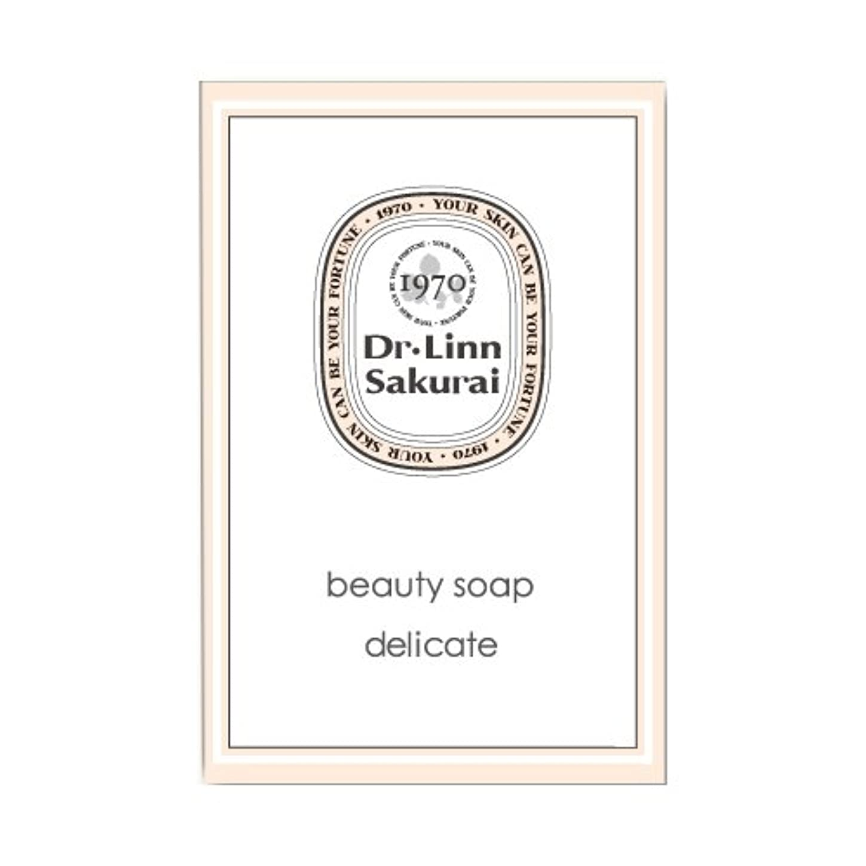 評価するさらにピアノドクターリンサクライ 洗顔石鹸 ビューティソープ デリケート (90g)