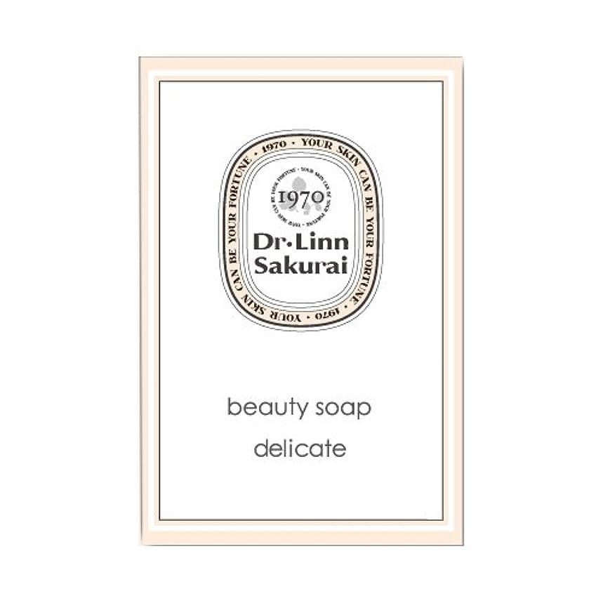 アラブ今捧げるドクターリンサクライ 洗顔石鹸 ビューティソープ デリケート (90g)