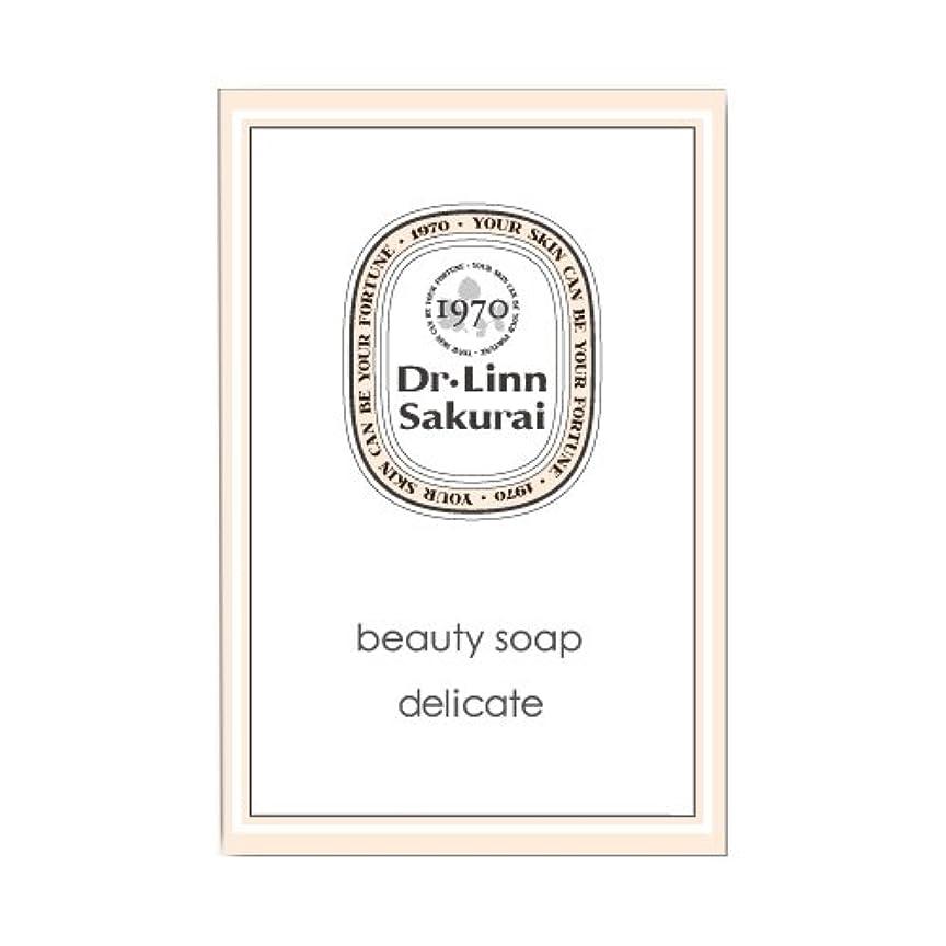 期間嫌なアフリカ人ドクターリンサクライ 洗顔石鹸 ビューティソープ デリケート (90g)