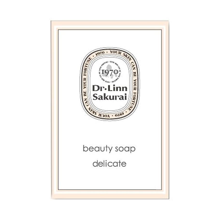 逆説まどろみのある海藻ドクターリンサクライ 洗顔石鹸 ビューティソープ デリケート (90g)