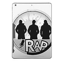 第2世代 第3世代 第4世代 iPad 共通 スキンシール apple アップル アイパッド A1395 A1396 A1397 A1416 A1430 A1403 A1458 A1459 A1460 タブレット tablet シール ステッカー ケース 保護シール 背面 人気 単品 おしゃれ ユニーク 音楽 ラップ 人物 002627