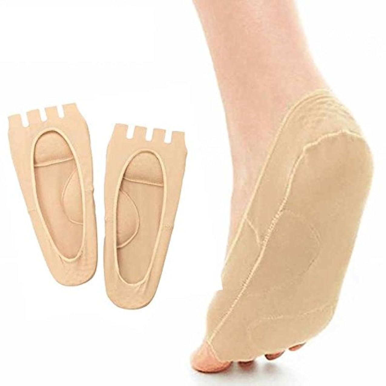 エゴマニア名声高くLorny(TM) ペディキュアツールコンシーラー親指の外反母趾の足セパレータフットケアツールのソックスマッサージャーアーチサポートソックスの痛みを軽減するフット