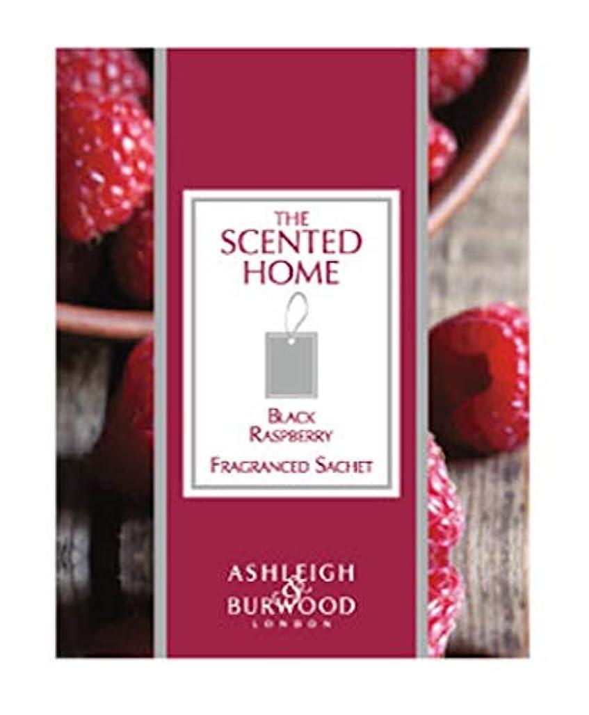 かりて変動する暗いアシュレイ&バーウッド(Ashleigh&Burwood) Ashleigh&Burwood サシェ ブラックラズベリー Sachet Black BlackRasberry アシュレイ&バーウッド 105㎜×80㎜×5mm/3個