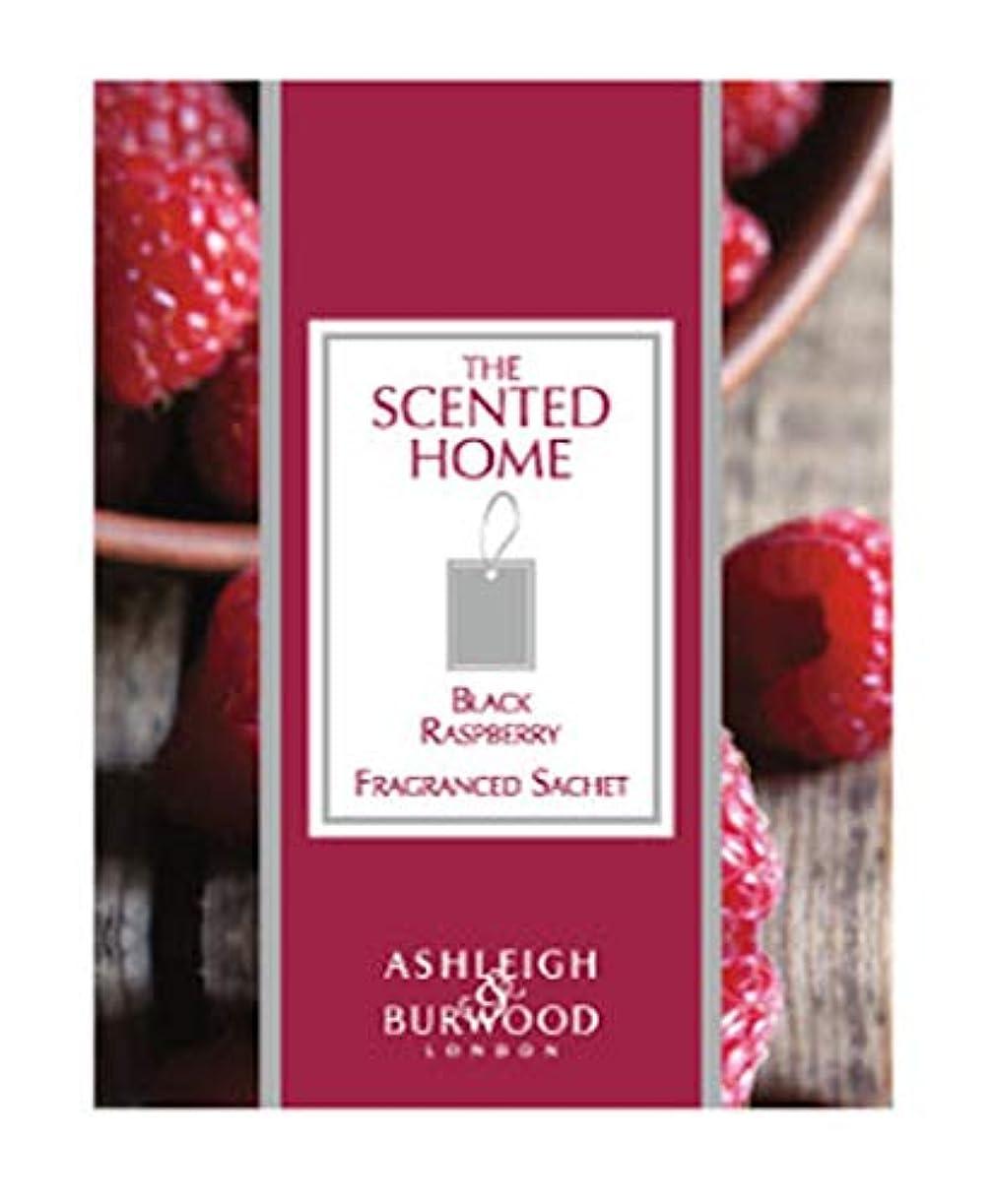 マラウイ注釈を付けるシーサイドアシュレイ&バーウッド(Ashleigh&Burwood) Ashleigh&Burwood サシェ ブラックラズベリー Sachet Black BlackRasberry アシュレイ&バーウッド 105㎜×80㎜×5mm/3個