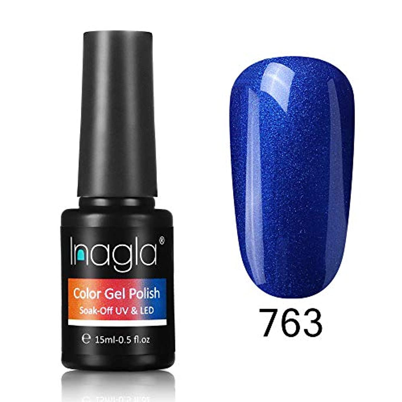 六月電話をかける雨のInagla ジェルネイル カラージェル 1色入り 15ml-GNS763