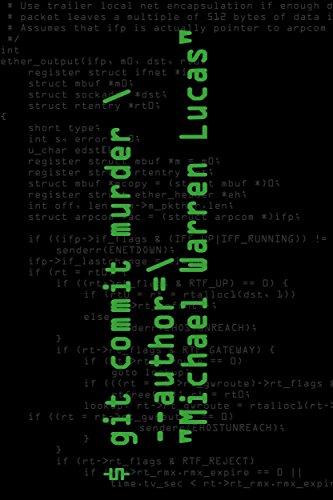 git commit murder (English Edition)