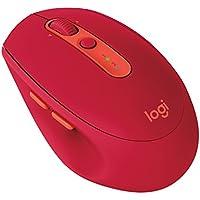Logicool ロジクール M585RU ワイヤレスマウス ルビー Bluetooth接続 FLOW機能付き