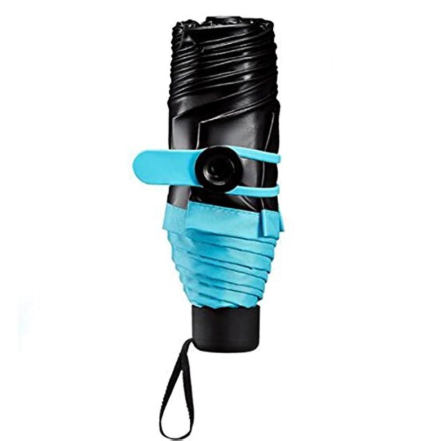 予見する鉛破壊的ブラックプラスチック製の傘パラソル女性折りたたみミニウルトラライトカスタム傘Umbrella Umbrella Umbrella Gift Box