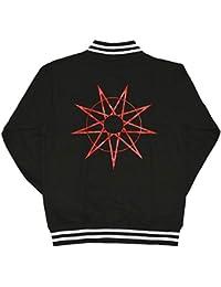 SLIPKNOT スリップノット Logo & 9 Point Star バーシティジャケット ブラック M