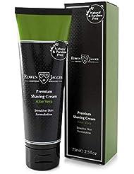 エドウィンジャガー プレミアム シェービング クリーム アロエベラ75ml[海外直送品]Edwin Jagger Premium Shaving Cream Aloe Vera 75ml [並行輸入品]