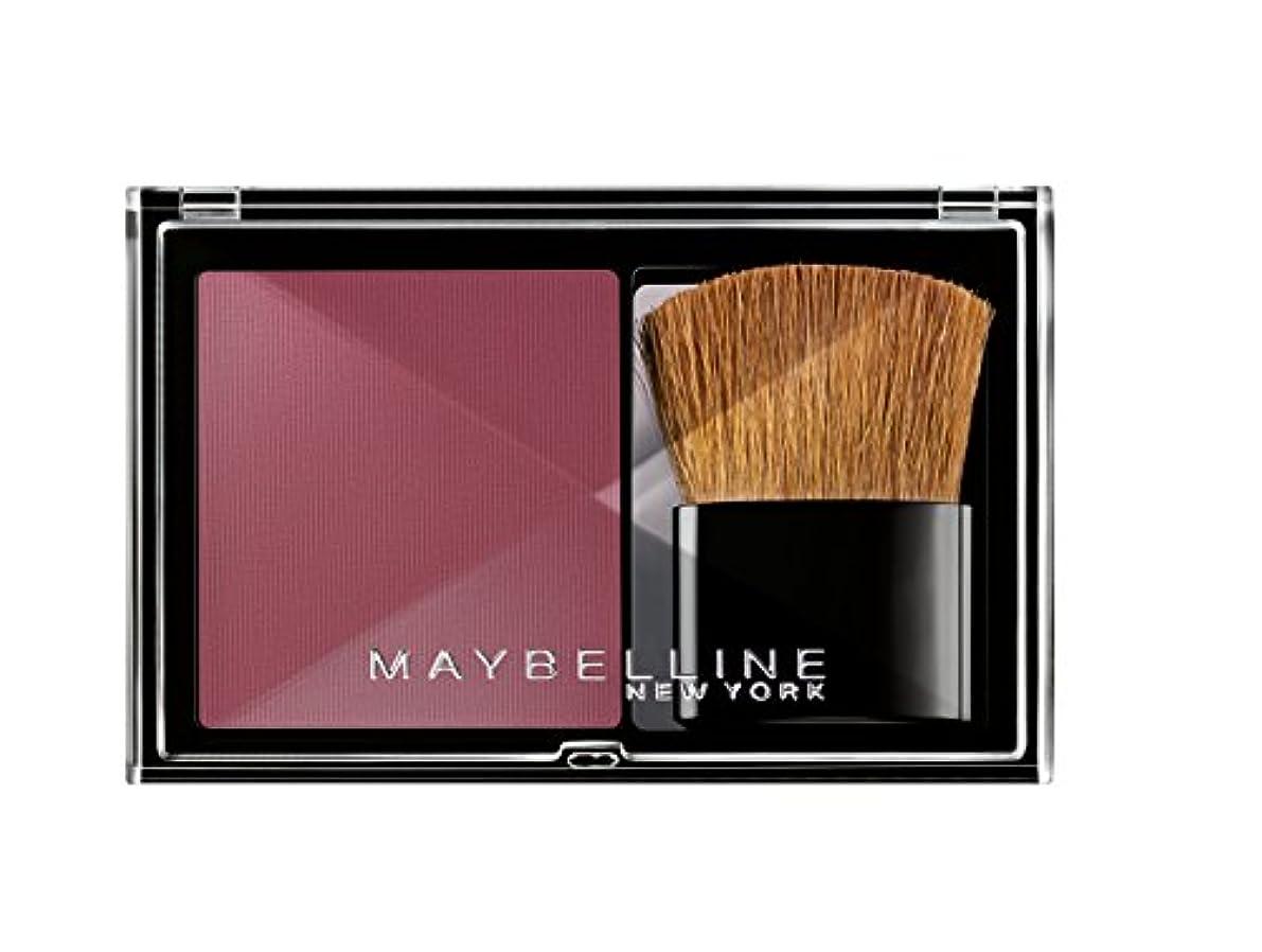 受け入れる担保ロードブロッキングMaybelline New York Expert Wear Blush Rouge Flash Plum/Pflaumenfarbenes Rouge-Puder, Make-Up für einen frischen...