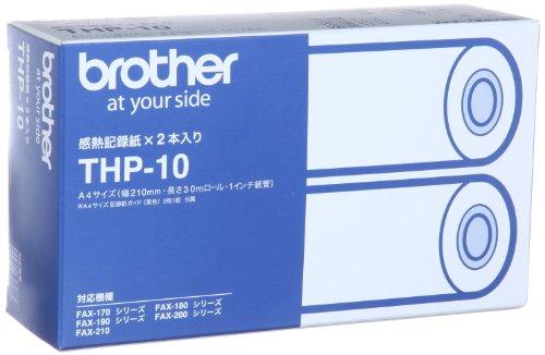 ブラザー 感熱ファクス用感熱記録紙 30m 2巻箱 THP-10 1箱