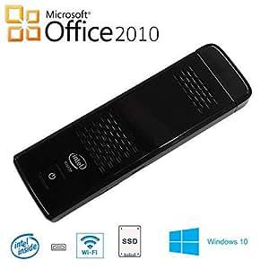 GLM スティックPC Microsoft Office 2010/Windows 10/ インテル Atom Z8350/メモリ 4GB/SSD 64GB/USB3.0/WIFI/HDMI/Bluetooth/ Stick Computer