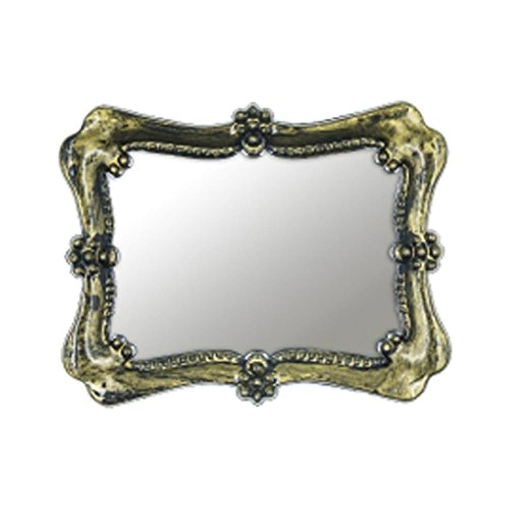 キャンドル前置詞性別Bonnail アンティークフレームミラー ゴールド クロエ