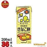 キッコーマン 豆乳飲料 きなこ餅 200ml×18本×2箱(36本)