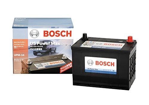 BOSCH [ ボッシュ ] 輸入車バッテリー [ US Power Max ] UPM-34