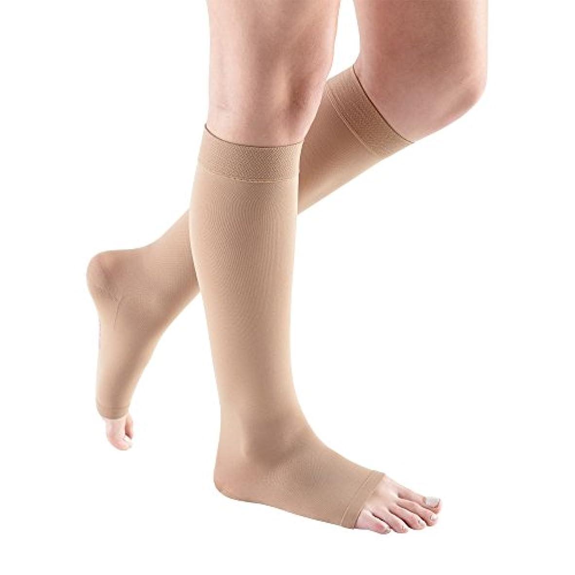 精神医学半球光のmediven comfort Compression Stockings 15-20 CALF Open Toe NATURAL II by Mediven