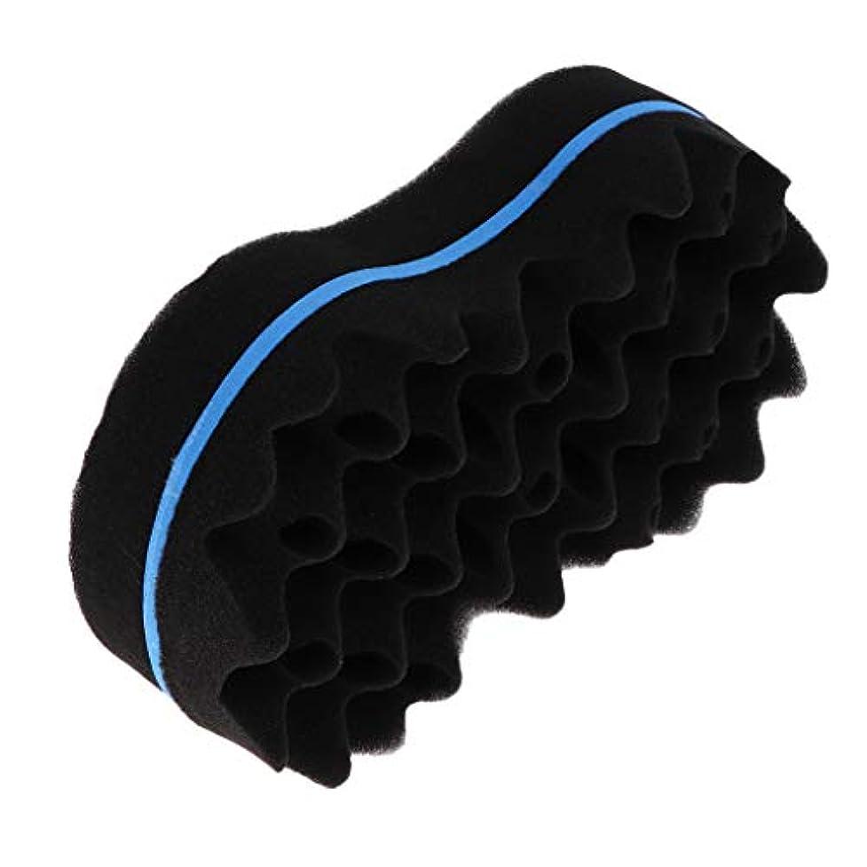 巨人気付く研究所カーラーツール スポンジカーラー 両面可用 ヘアスタイリング スポンジヘアブラシ 男性 女性用