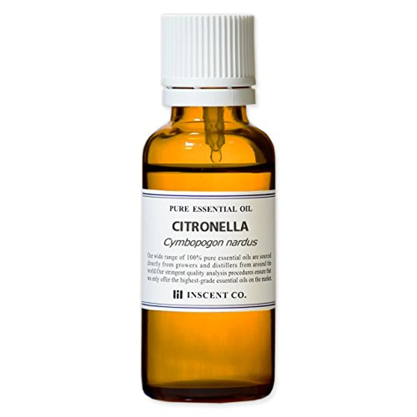 経過繁殖ターゲットシトロネラ 30ml インセント アロマオイル AEAJ 表示基準適合認定精油