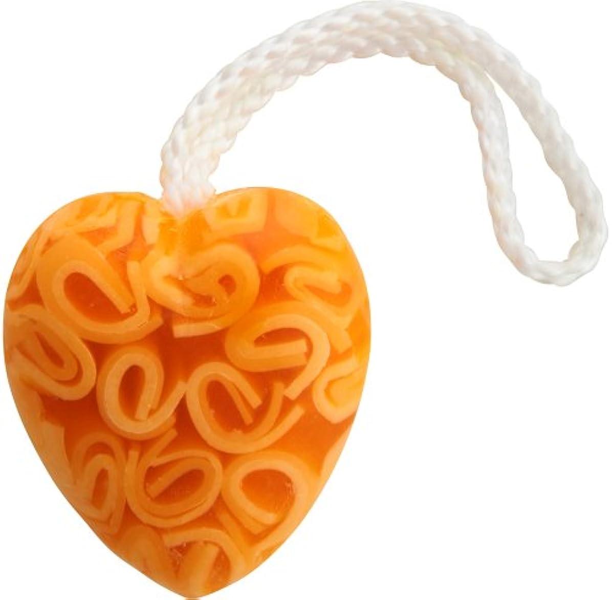 バラバラにするなぞらえる郵便IWISH ソープ ハート オレンジ
