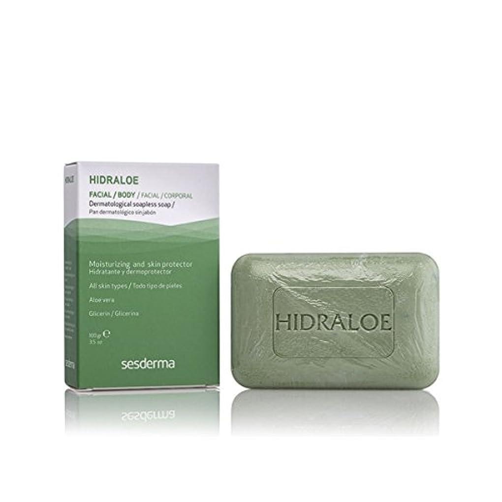 飽和する修復宇宙Sesderma Hidraloe Dermatological Soapless Soap 100gr [並行輸入品]