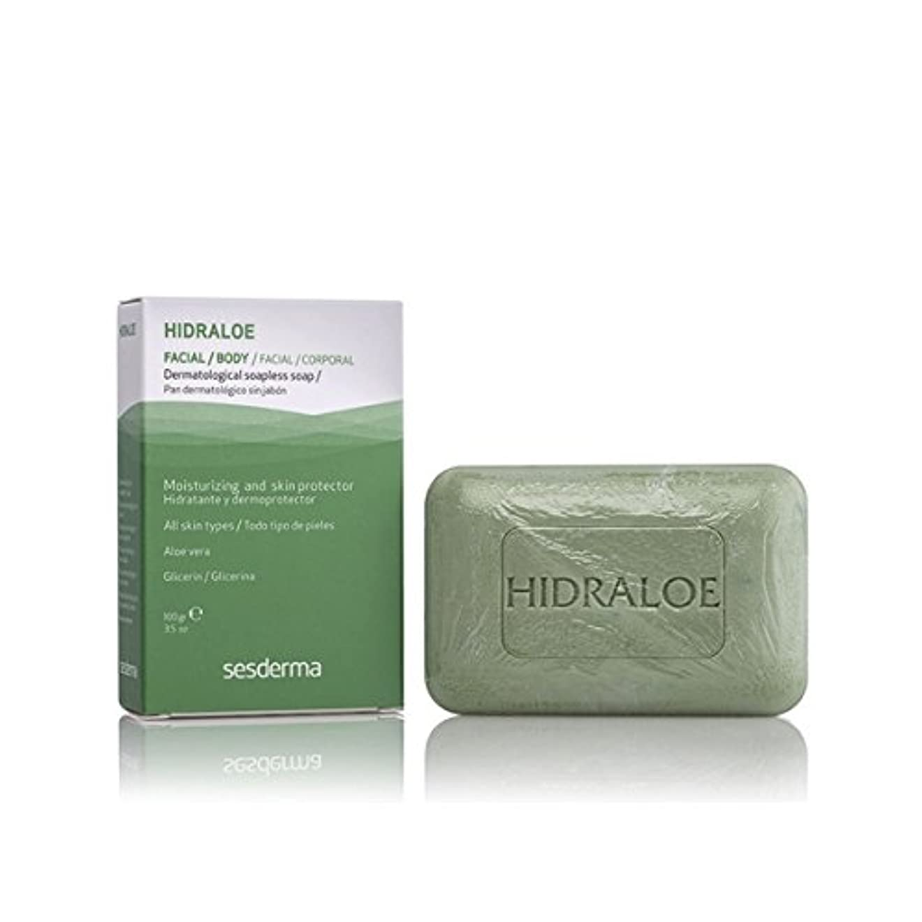 Sesderma Hidraloe Dermatological Soapless Soap 100gr [並行輸入品]