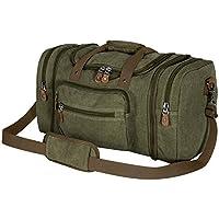 Plambag Canvas Duffle Bag for Travel, Duffel Overnight Weekend Bag