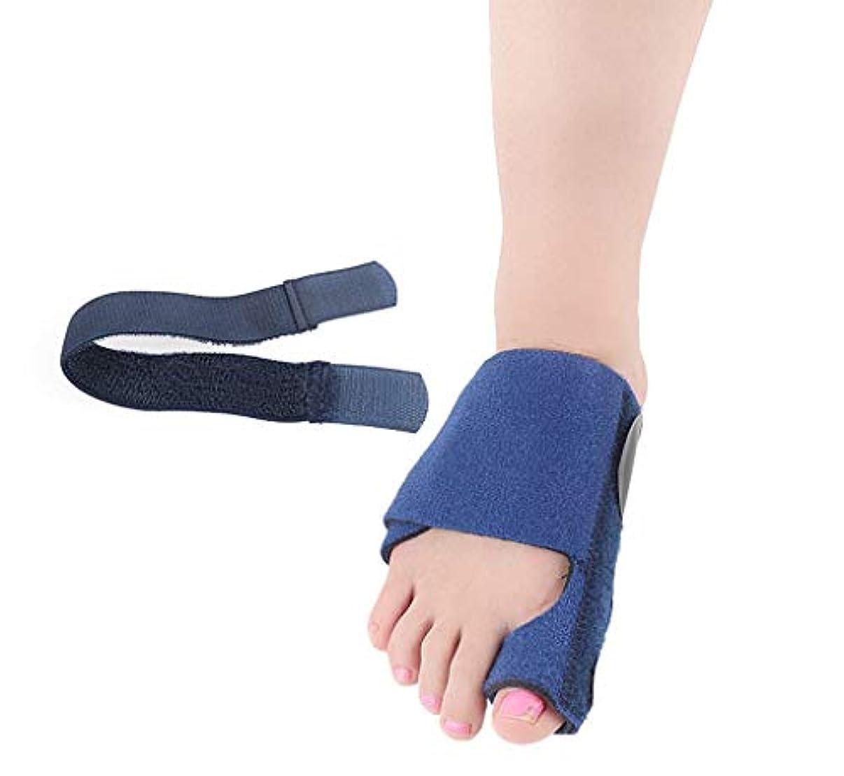 バイバイライナー急ぐバニオンコレクター  - 整形外科用足首矯正ビッグトゥストレートナー - 外反母趾パッド用副木ブレース、関節痛の緩和、アライメント治療 - 整形外科用スリーブフットラップ