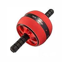 MYQ 腹部ローラー 腹部の車輪 - 腹部の練習のローラーのための膝パッドが付いている家の自動反動の動きのローラー Abローラーホイール (Color : A)