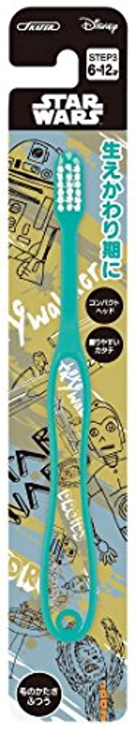 地獄九時四十五分白菜スケーター 歯ブラシ 小学生用 (6-12才) 毛の硬さ普通 15.5cm スター?ウォーズ スケッチブック TB6N