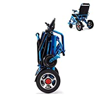 折りたたみ式電動車椅子、身体障害者用電動車椅子および高齢者の移動