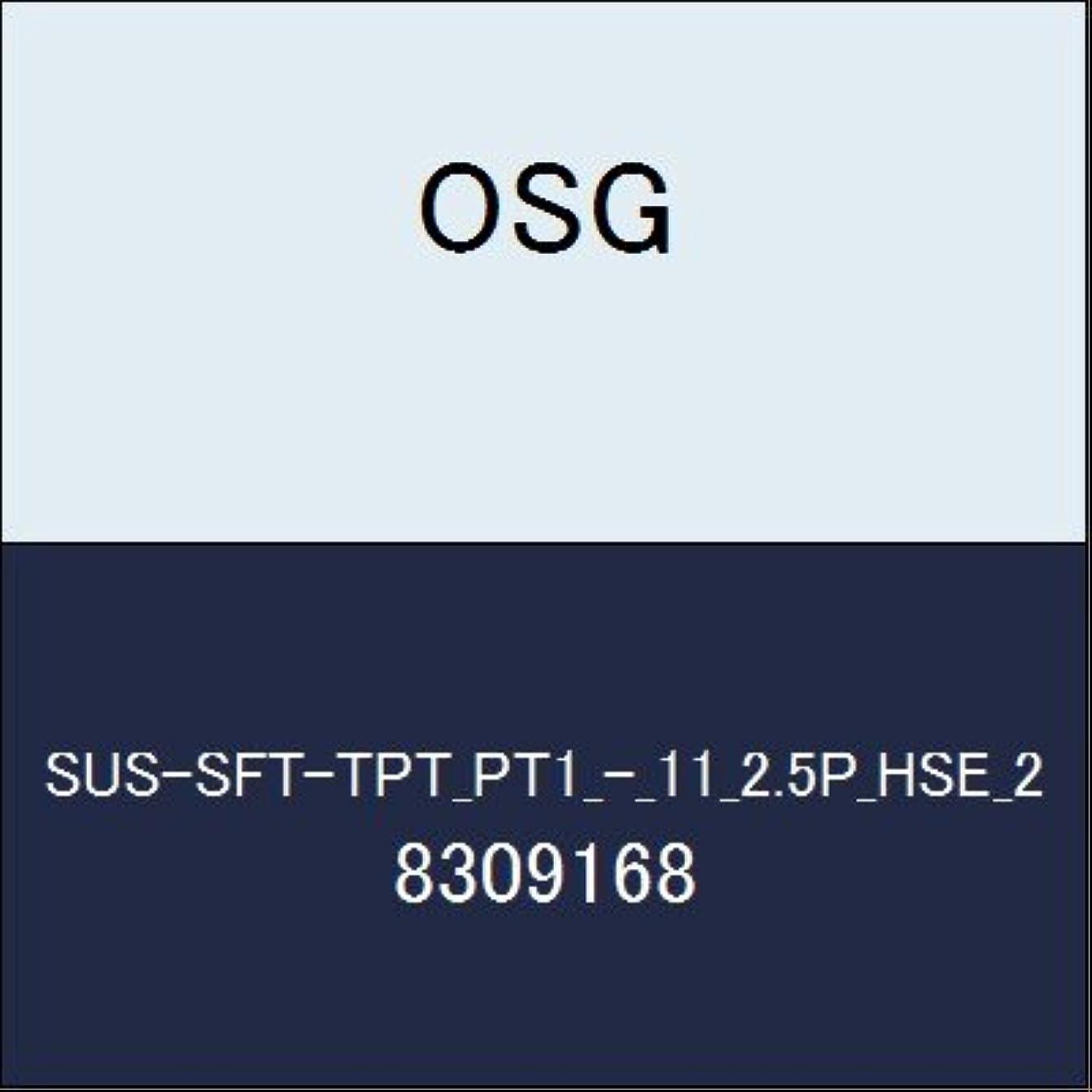 なぜ夕暮れ電気技師OSG ハイス管用テーパタップ SUS-SFT-TPT_PT1_-_11_2.5P_HSE_2 商品番号 8309168