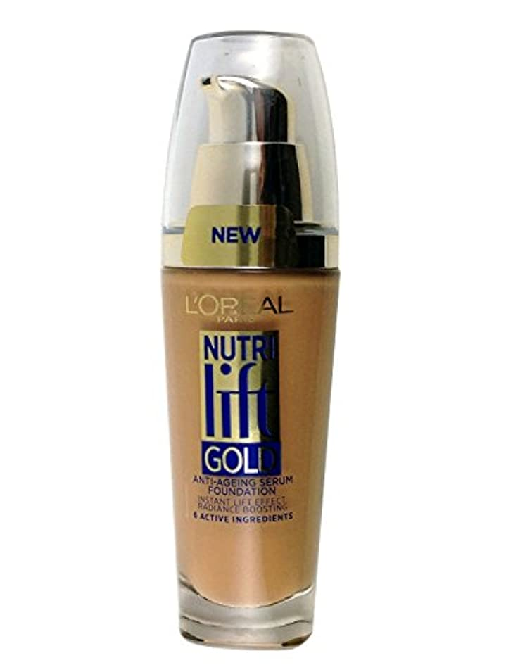 ビクター分数メガロポリスL'Oreal Paris Nutri Lift Gold Foundation - 310 Rose Honey 25ml New & Sealed