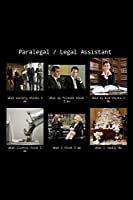 "Paralegal / Legal Assistant: Funny Thank You Law Practice Notebook Gift Idea For Men / Women - 120 Pages (6"" x 9"") Hilarious Gag Present"