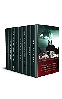 Future Adventures: Eight Complete Adventure Science Fiction Novels by [Jansen, Patty, Springer, Aurora, McGuire, M.T., Crusoe, Andrew M., Saoulidis, George, Pruden, D.M., Avera, Drew, Green, J.J.]