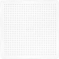 マルタハニング (malte haaning) ハマビーズ ボードL 正方形 白  MH219