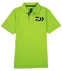 ダイワ  ポロシャツ DE-6504 グリーン M
