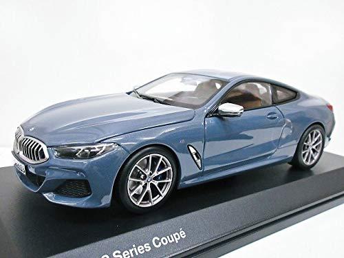 BMW特注 1/18 BMW 8シリーズ M850i XDrive クーペ (バルセロナ ブルー) 2018