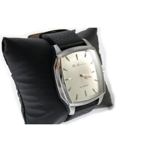 Ben Sherman ベンシャーマン 腕時計 ホワイトフェイス アナログ 本革 レザーベルト オーバル r641