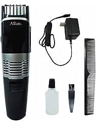 Allans ダストボックス付きで 髪 飛び散らない ヘア 電動バリカン クリッパー MEBM-23