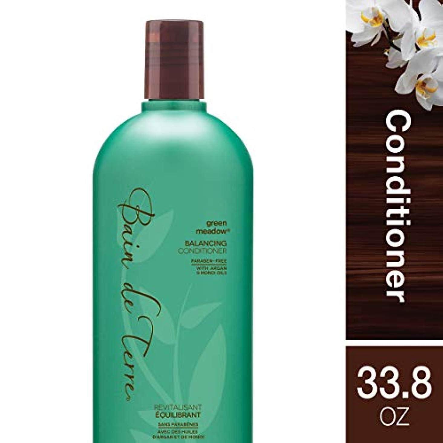 パートナー粘性の比類のないBain de Terre Balancing Conditioner, Green Meadow, 33.8 Ounce by Bain de Terre