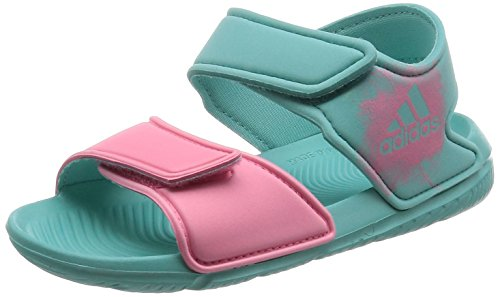 [アディダス] サンダル KIDS AltaSwim C イージーミント S17/イージーピンク S17/イージーミント S17 21.0(21cm) (旧モデル) adidas(アディダス) adidas BEI10