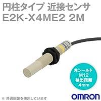オムロン(OMRON) E2K-X4ME2 2M 円柱タイプ近接センサ (直流3線式) NN