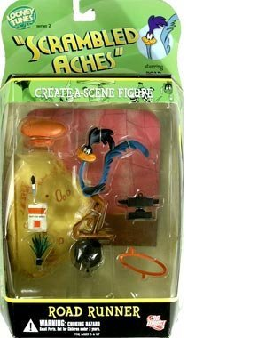 "Looney Tunes ""Scrambled Ashes"" Road Runner Collectible Action Figure by DC DIRECT [병행수입품]-"