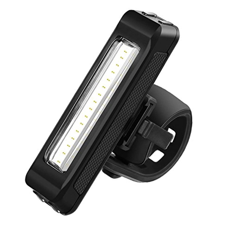商人上ドールLED自転車用テールライト USB充電式自転車用ライト 安全ライト LEDライト 6モード付き 安全性高い防水ライト 超高輝度 小型 軽量テールランプ 夜道の安全対策 事故対策 安全運転 ハンドル取り付け型