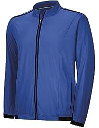 Adidas GolfメンズClimaproof Stretch Wind Jacket M ブルー
