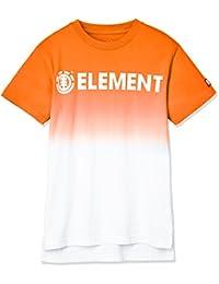 [エレメント] [キッズ] 半袖 Tシャツ (USA コットン) AI025-306 / CORPORATE SS TEE BOY/ロゴ プリント 子供服