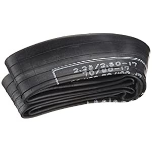 DUNLOP(ダンロップ)バイクタイヤチューブ 2.25:2.50*70/100-17 バルブ形状:TR4 リム径:17インチ 134047 二輪 オートバイ用